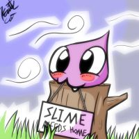 Slime Needs Home by Kaittycat