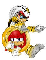 Dr.fintevus and knuckles by macietate