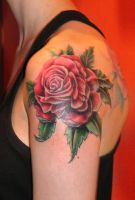 Rose by Rublev-tattoo