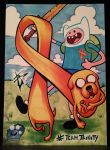TeamTrinity Finn and Jake by skulljammer