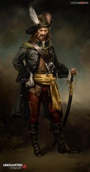 Pirate Captain Ill Hn 05f by HyongTek