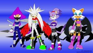 2nd Sonic Boom contest entry - Team Silver by MasterEni2009