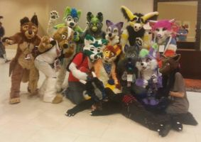 FAU7: 5 Furs went... ALOT OF CUTE FURS by BlueWaterRose