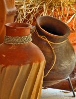 Clay Pots by Swanee3