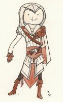 It's Time for Adventure Time with Ezio by RoseofVictory