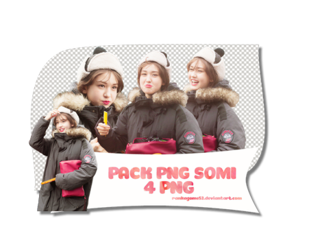 [160704] PACK PNG JEON SOMI by rankagome52