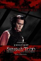 Sweeney Todd Movie Poster 04 by Pyrochimp
