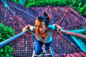 fear of heights expression.. by krissbalada