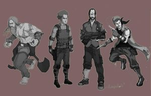 character design for ethan murphy by chase-chase