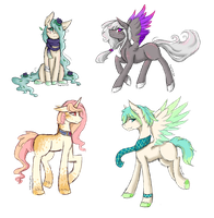 [CLOSED] Sketchy Pone Adopts by Pastel-Circus