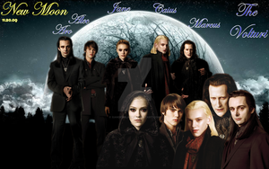 New Moon: The Volturi by XanderBlack