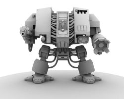 Space Marine Dreadnought3 by Rudy102