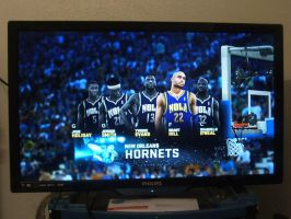 NBA2K11 New Orleans Hornets starting 5 by werewolf85