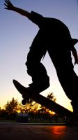Skate In The Sunset by billxmaster