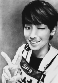 Inseong of SF9, K-Pop by Mim78