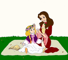 Belle and Daughter by siquia