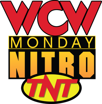WCW Monday Nitro TNT logo by B1ueChr1s