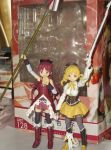 Figma - Kyoko and Mami by Zoe-the-Pink-Ranger