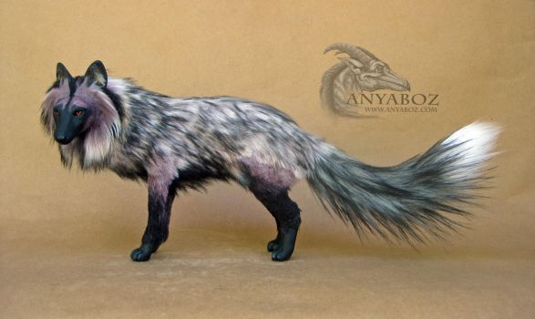 Silver Berry Fox Room Guardian by AnyaBoz