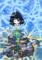 Hotaru Tomoe as Mermaid by chorny-kotenok