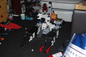 Transformers Fortress Maximus WIP by Shenron-Customs