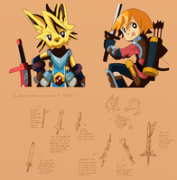 Characters and Swords by ohgoshdarnthesecond