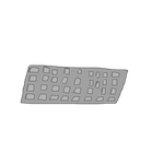 Keyboard Asset for slainender by WellRead