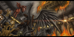 [FoE/O] A damn proud griffin by TheOmegaRidley