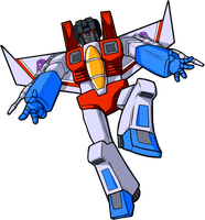 Starscream G1 by Megalorvi