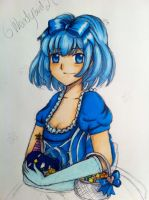 Princess In blue by 6wendybird91