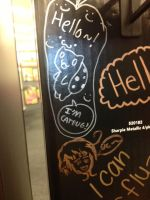 Catbug and Italiy @ staples by lisabean