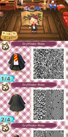 Gryffindor Robe .:ACNL Design:. by 1bookfish
