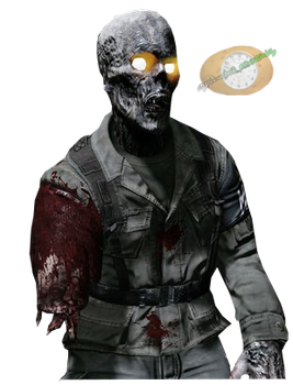 COD Zombie Render by Spudoclock-Creations