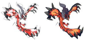 Yveltal - Old S. and Modern Style by Tomycase