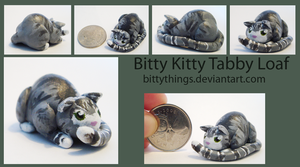 Bitty Kitty Tabby Loaf - SOLD by Bittythings