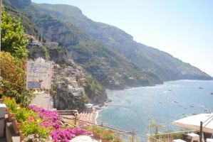 Positano in the Morning by Aestera