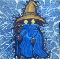 Final Fantasy Black Mage by paintmeaperfectworld