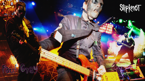 Paul Gray - Slipknot Wallpaper by van-helblaze