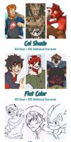 Commission Prices - Open! by KingdomBlade