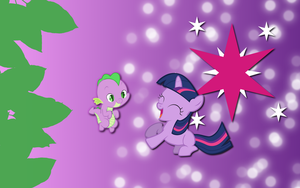 Twilight Spike wallpaper by AliceHumanSacrifice0