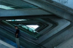 rolling stairs perspective by isischneider
