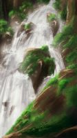 Waterfall by E-sketches