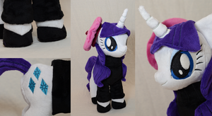 Beatnik Rarity Plushie by makeshiftwings30