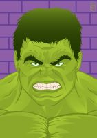 The Avengers - Hulk by GHussain