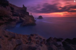 sunset story by sultan-alghamdi