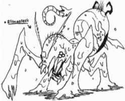 [Insectovores] Slimeasect by Kainsword-Kaijin