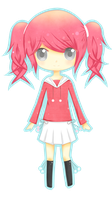 Pink Hair Chibi by Kurumichi