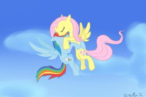 FlutterDash_My Skyfriend by Pearlpelt-Shadow
