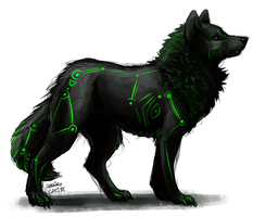 GW Commish: Stark for Darkgreen by Cats-m