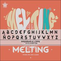 Hyuna melting    Font by StillPhantom